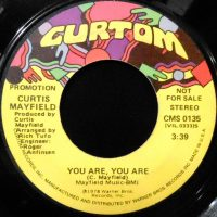 7 / CURTIS MAYFIELD / YOU ARE, YOU ARE