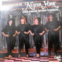LP / LAS CHICAS DE NUEVA YORK / CON AMOR, RITMO Y SABOR