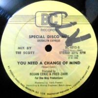 12 / BROOKLYN EXPRESS / BACK IN TIME / YOU NEED A CHANGE OF MIND
