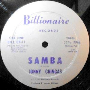 12 / JONNY CHINGAS / SAMBA