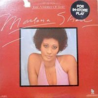 LP / MARLENA SHAW / JUST A MATTER OF TIME