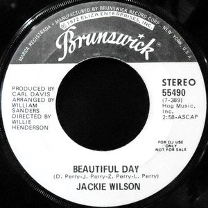 7 / JACKIE WILSON / BEAUTIFUL DAY
