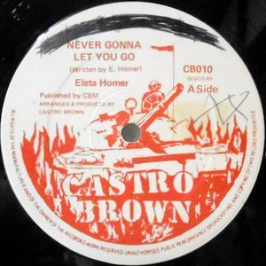 12 / ELETA HOMER / NEVER GONNA LET YOU GO / VERSION