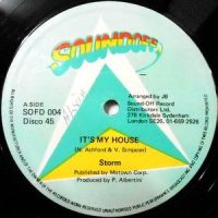 12 / STORM / IT'S MY HOUSE / INSTRUMENTAL WELCOME