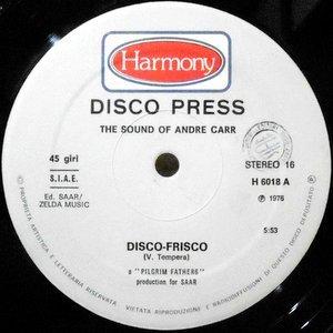 12 / ANDRE CARR / DISCO-FRISCO