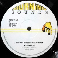 12 / ELEGENCE / STOP IN THE NAME OF LOVE