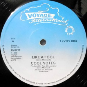 12 / COOL NOTES / LIKE A FOOL / JAH LOVELY-WONDERFUL-MARVELOUS