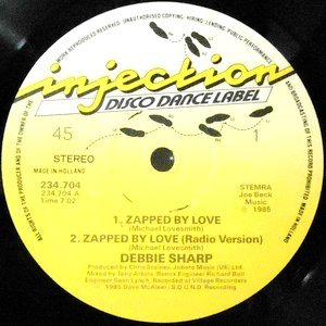 12 / DEBBIE SHARP / ZAPPED BY LOVE / LOVE GAMES