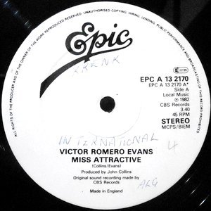 12 / VICTOR ROMERO EVANS / MISS ATTRACTIVE / I KEEP ON PRESSING ON YOUR DOORBALL