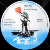 12 / JEAN ADEBAMBO / TELL ME
