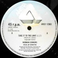 12 / NORMAN CONNORS / TAKE IT TO THE LIMIT / BLACK COW