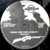 12 / INVESTIGATORS / WOMAN I NEED YOUR LOVING PT.1 / PT.2