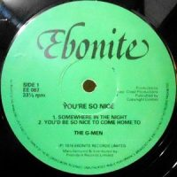 LP / THE G-MEN / YOU'RE SO NICE