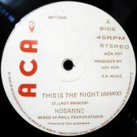 12 / ROSANNE / THIS IS THE NIGHT (REMIX)