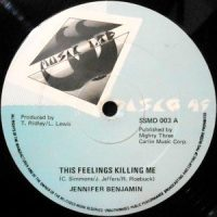 12 / JENNIFER BENJAMIN / THIS FEELINGS KILLING ME