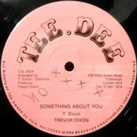12 / TREVOR DIXON / SOMETHING ABOUT YOU