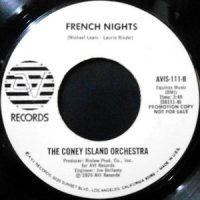 7 / THE CONEY ISLAND ORCHESTRA / HOORAY FOR HOLLYWOOD / FRENCH NIGHTS