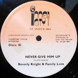 12 / BEVERLY KNIGHT & FAMILY LOVE / NEVER GIVE HIM UP
