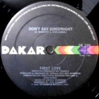 12 / FIRST LOVE / DON'T SAY GOODNIGHT / LOVE ME TODAY