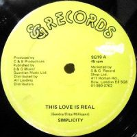 12 / SIMPLICITY / THIS LOVE IS REAL / LOVE SESSION