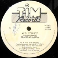 12 / ELAINE & PAULINA / WITH YOU BABY / LATELY