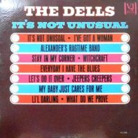 LP / THE DELLS / IT'S NOT UNUSUAL