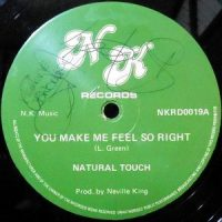 12 / NATURAL TOUCH / YOU MAKE ME FEEL SO RIGHT / I DON'T WANT TO BE ALONE TONIGHT
