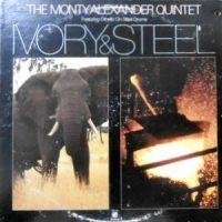 LP / MONTY ALEXANDER QUINTET / IVORY & STEEL