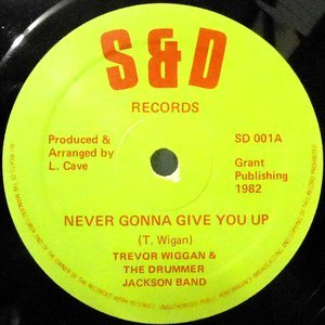 12 / TREVOR WIGGAN & THE DRUMMER JACKSON BAND / NEVER GONNA GIVE YOU UP
