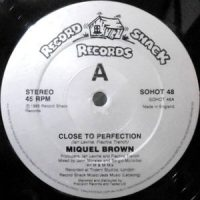12 / MIQUEL BROWN / CLOSE TO PERFECTION / (INSTRUMENTAL)