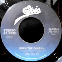 7 / THE CLASH / ROCK THE CASBAH / LONG TIME JERK