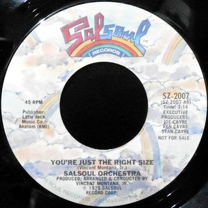 7 / SALSOUL ORCHESTRA / YOU'RE JUST THE RIGHT SIZE