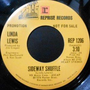 7 / LINDA LEWIS / SIDEWAY SHUFFLE / ROCK A DOODLE DO