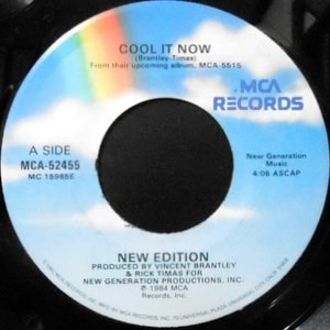 7 / NEW EDITION / COOL IT NOW / INSTRUMENTAL