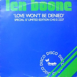 12 / LEN BOONE / LOVE WON'T BE DENIED