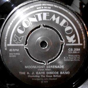 7 / THE A. J. GAYE DISCOE BAND / MOONLIGHT SERENADE / HAPPILY GAYE