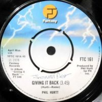7 / PHIL HURTT / GIVING IT BACK / WHERE THE LOVE IS