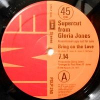 12 / GLORIA JONES / GONZALEZ / BRING ON THE LOVE / CARNIVAL