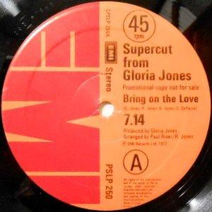 12 / GLORIA JONES / GONZALEZ / BRING ON THE LOVE / CARNIVAL