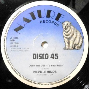 12 / NEVILLE HINDS / OPEN THE DOOR TO YOUR HEART