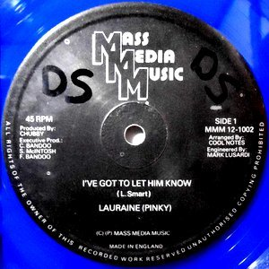 12 / LAURAINE (PINKY) / I'VE GOT TO LET HIM KNOW / (ROUGH NECK STYLEE)