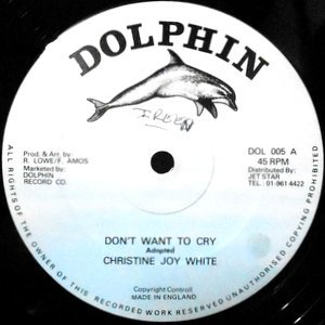 12 / CHRISTINE JOY WHITE / DON'T WANT TO CRY