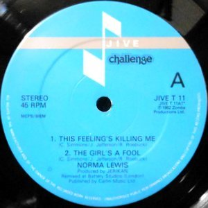 12 / NORMA LEWIS / THIS FEELING'S KILLING ME / THE GIRL'S A FOOL