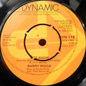 7 / BARRY BIGGS / SIDESHOW / I'LL BE BACK