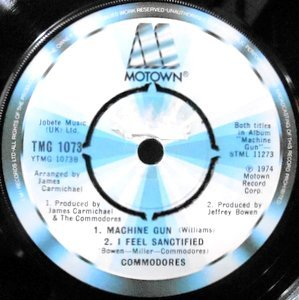 7 / COMMODORES / MACHINE GUN
