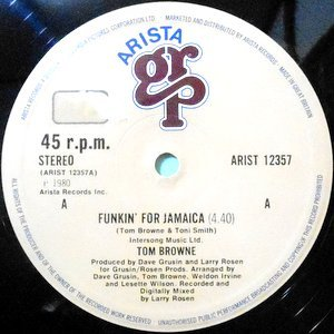 12 / TOM BROWNE / FUNKIN' FOR JAMAICA