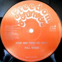 12 / FULL WOOD / STOP AND THINK ME OVER
