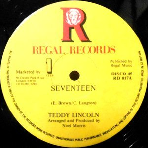 12 / TEDDY LINCOLN / SEVENTEEN