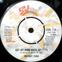 7 / INSTANT FUNK / I GOT MY MIND MADE UP / WILD WORLD OF SPORTS