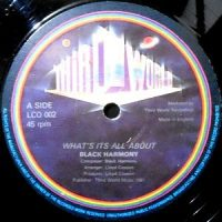 12 / BLACK HARMONY / WHAT'S ITS ALL ABOUT /